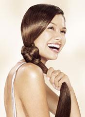 Le traitement des cheveu par le sel comme souvent