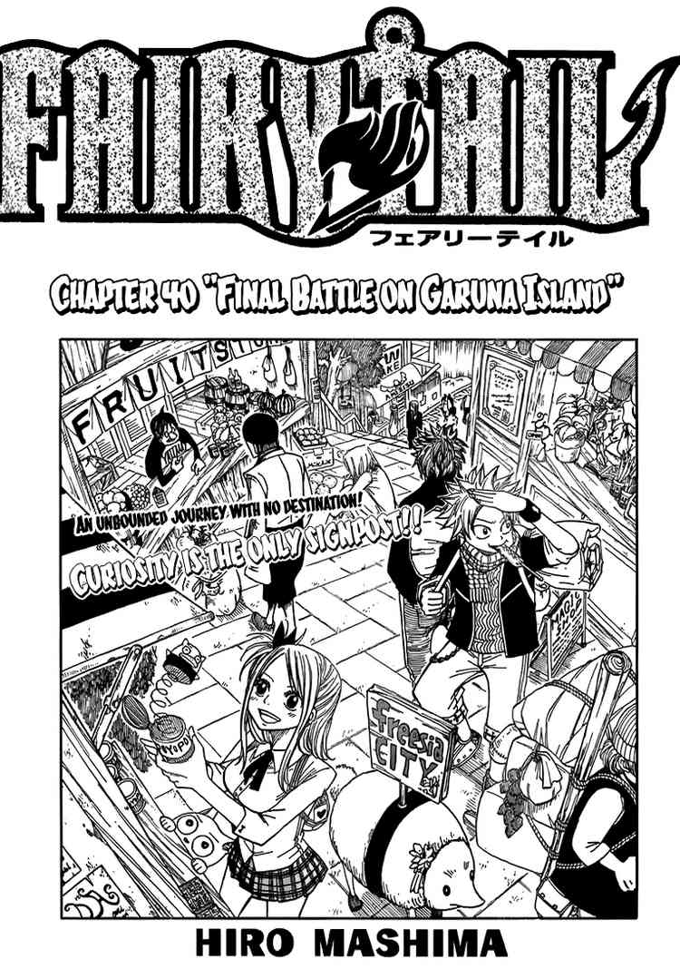 Fairy Tail chap 40 page 1 - IZTruyenTranh.com
