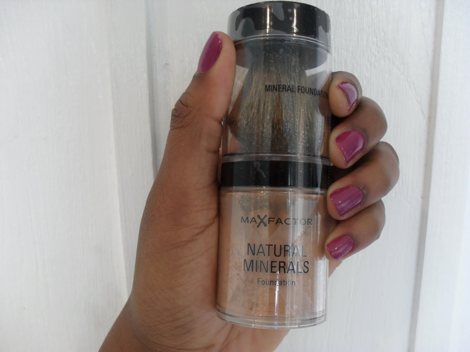 Max Factor Mineral Foundation | The Student's Guide To Nail Polish