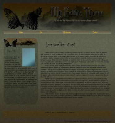 free gothic layout