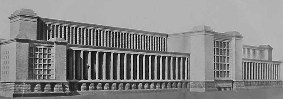 Liga de historiadores de la segunda guerra mundial for Architecture nazi