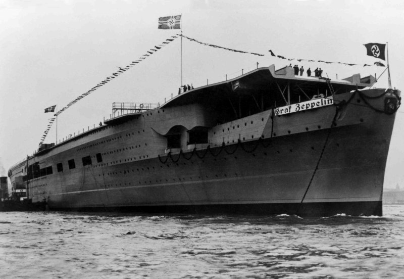 El Graf Zeppelin: El Mayor Portaviones Nazi