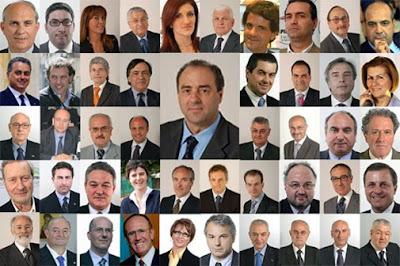 Melissano pensieri liberi febbraio 2010 for Parlamentari italiani numero