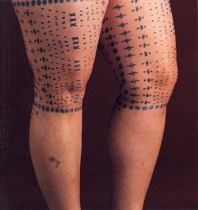 Female Tattoo (Malu) [above]