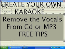 Remove the Vocals - Free tips