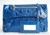 A nice Blue Handbag