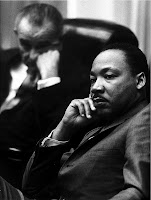 Martin Luther King, Jr.  & Lyndon B. Johnson