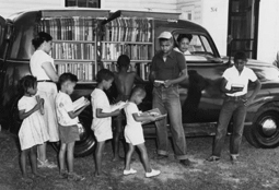 1950s North Carolina Bookmobile