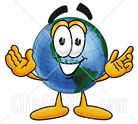 Globe Clip Art clipart of the world
