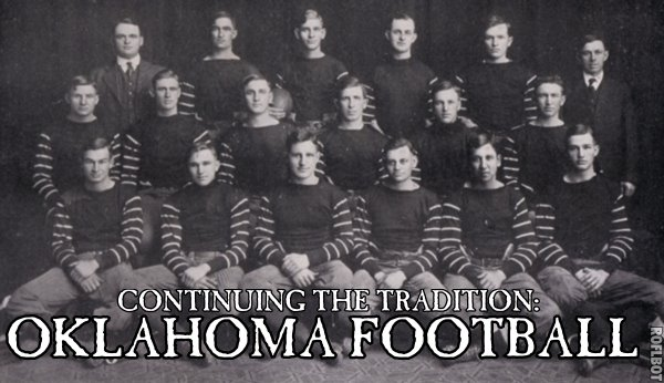 OKLAHOMA SOONER FOOTBALL