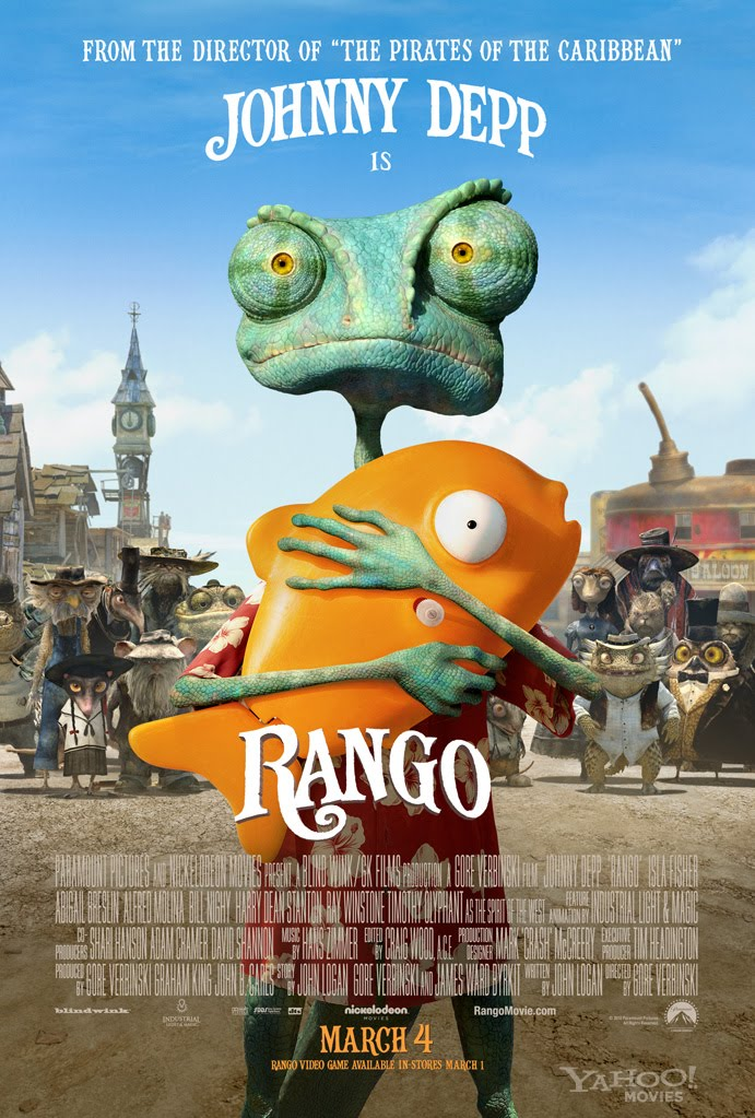 Tắc Kè Ba Hoa - Rango (2011)