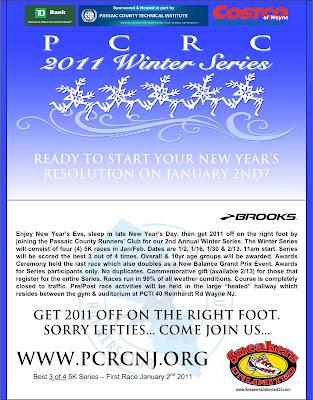 PCRC 2011 Winter Series