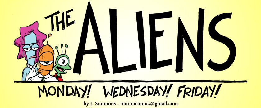 The Aliens-FREE Comic Strip!