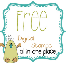 Everyday new freebie digital stamps!!