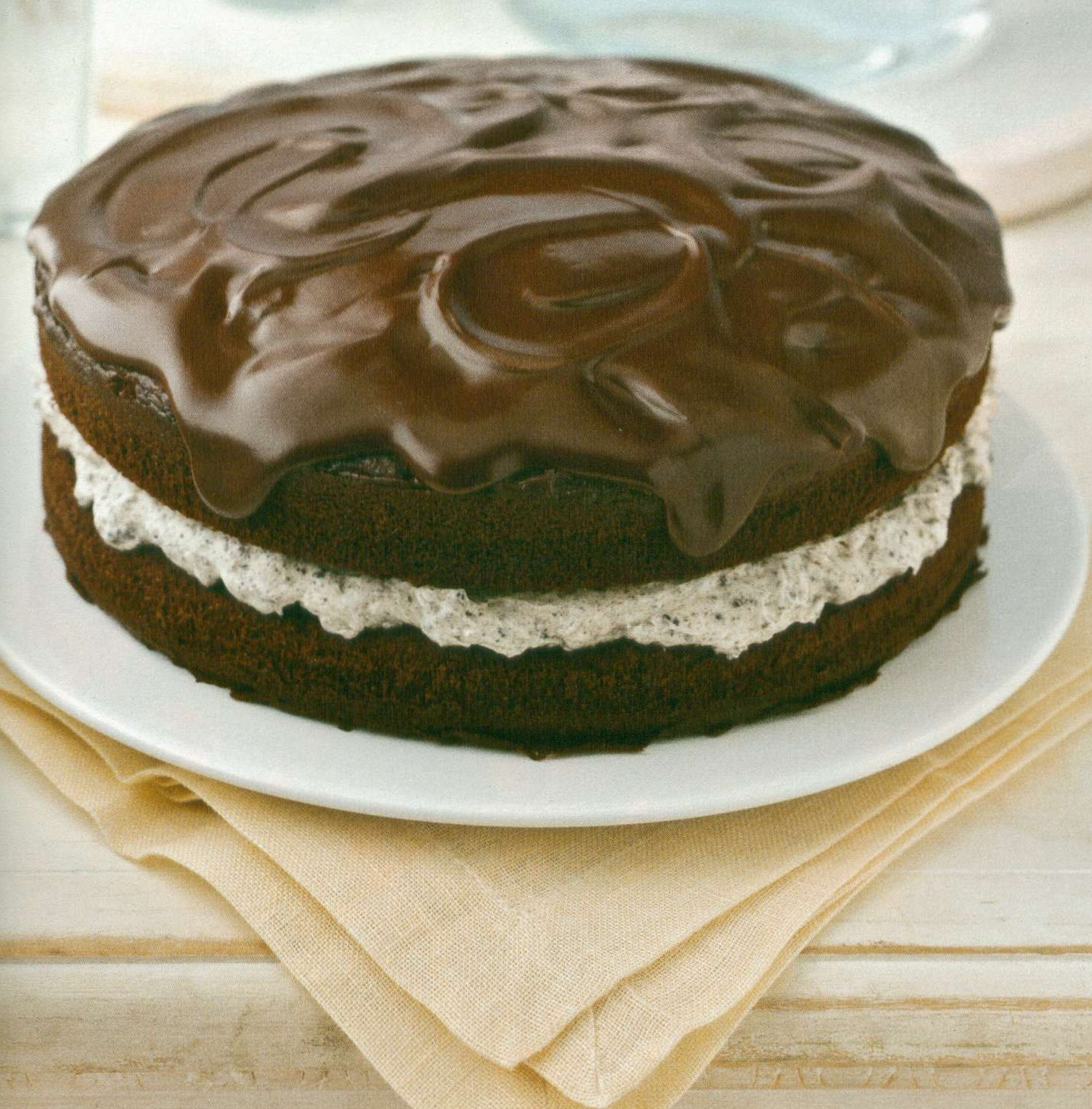 Rosanna's Kitchen: Chocolate-Covered OREO Cookie Cake