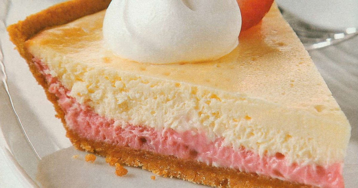 Rosanna's Kitchen: 3-Step Strawberry Layer Cheesecake