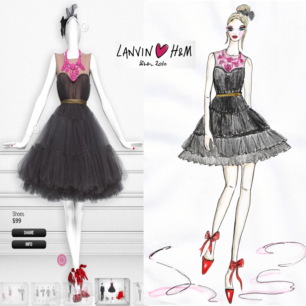 lanvin_H&M_fall_2010_illustration