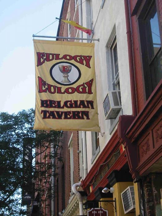 Eulogy Belgian Tavern 136 Chestnut Street Philadelphia, PA 19106