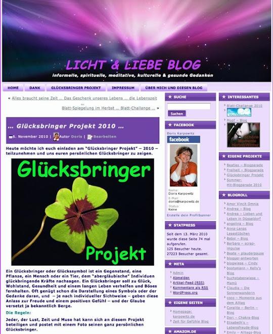 Licht und Liebe - Blog
