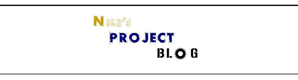 Nick's Project Blog