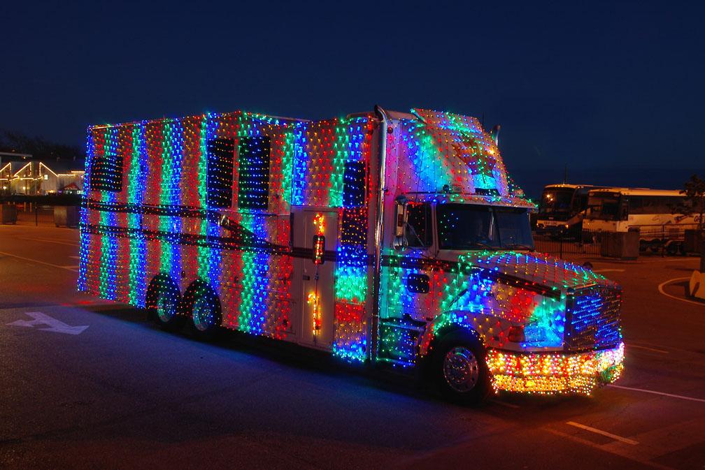 christmas light truck parade - Christmas Car Parade Decorations