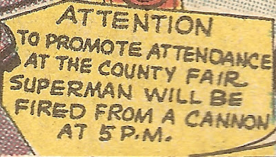 In Metropolis, all signs must announce the stunt's purpose in their first sentence