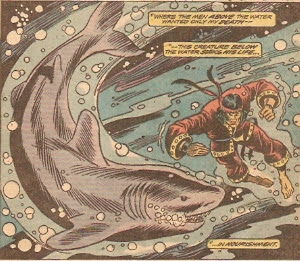 This was pre-Jaws, maybe...Shang-Chi started the shark craze!!