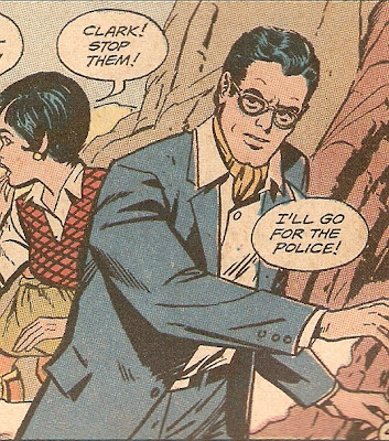Clark Kent--reporting with style