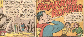 Superman? With the emotional maturity of a SuperBOY, apparently
