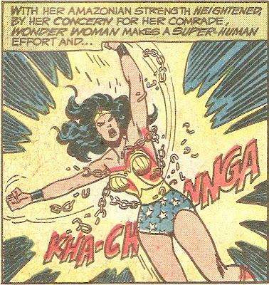 Because her basic Amazonian strength isn't enough...