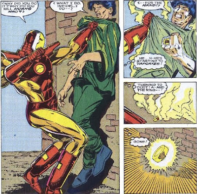 Iron Man...good at stopping them, lousy at capturing them