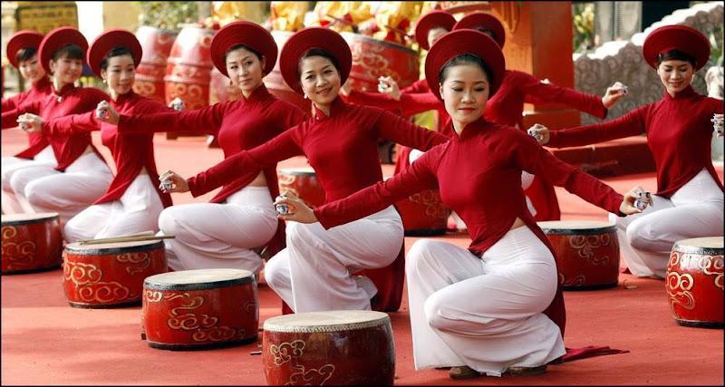 Chinese new year celebration at lakeside
