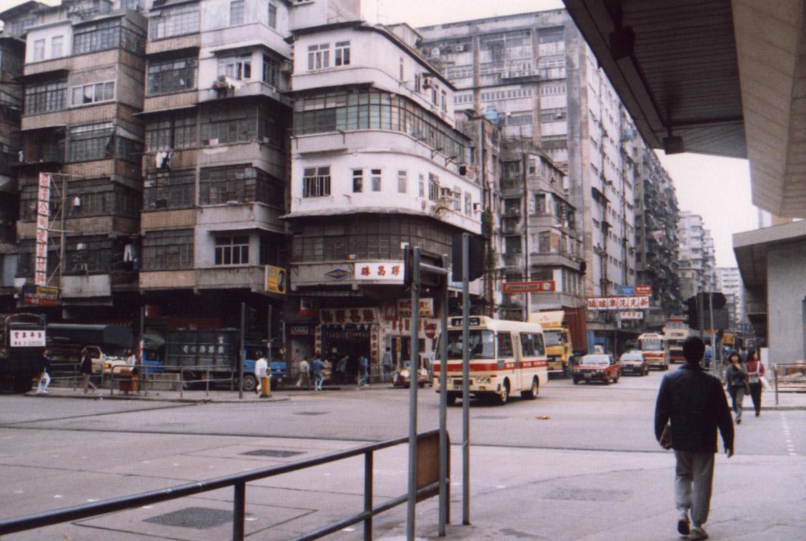 kowloon walled city hong kong china pcb. Black Bedroom Furniture Sets. Home Design Ideas