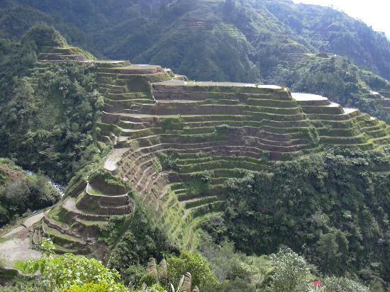 Banaue is known for its rice