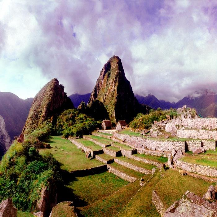 Beautiful Urubamba Valley in Peru
