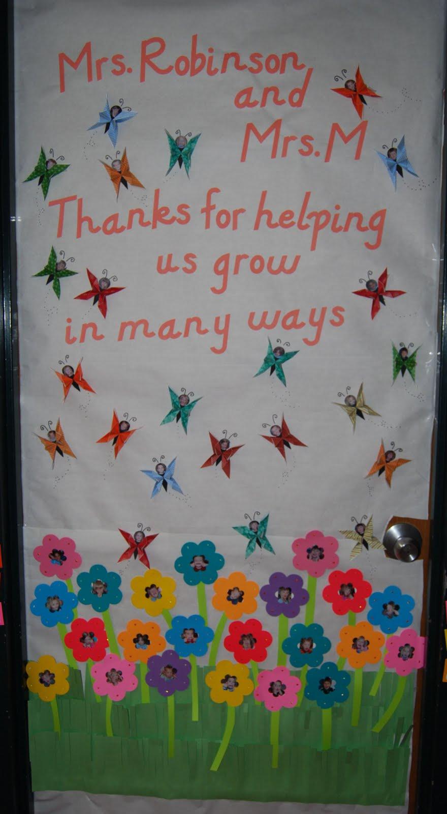 Teacher Appreciation Day door decoration & Bigfoot \u0026 Pickle Face\u0027s Kids Craft Ideas: Teacher Appreciation Day ...