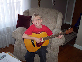 Cody & his guitar