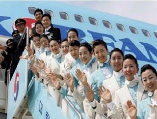 Korean Air Flight Stewardess
