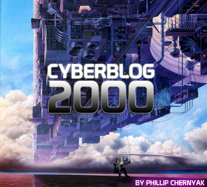CYBERBLOG 2000: The internet welcomes you!