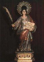 Santa Quiteria. Patrona de Cabezonespuntocom