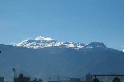 Volcan Nevado del Ruiz en manizales