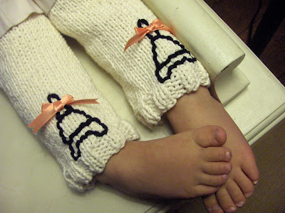 Baby Leg Warmers Free Knitting Pattern from the Baby clothing Free