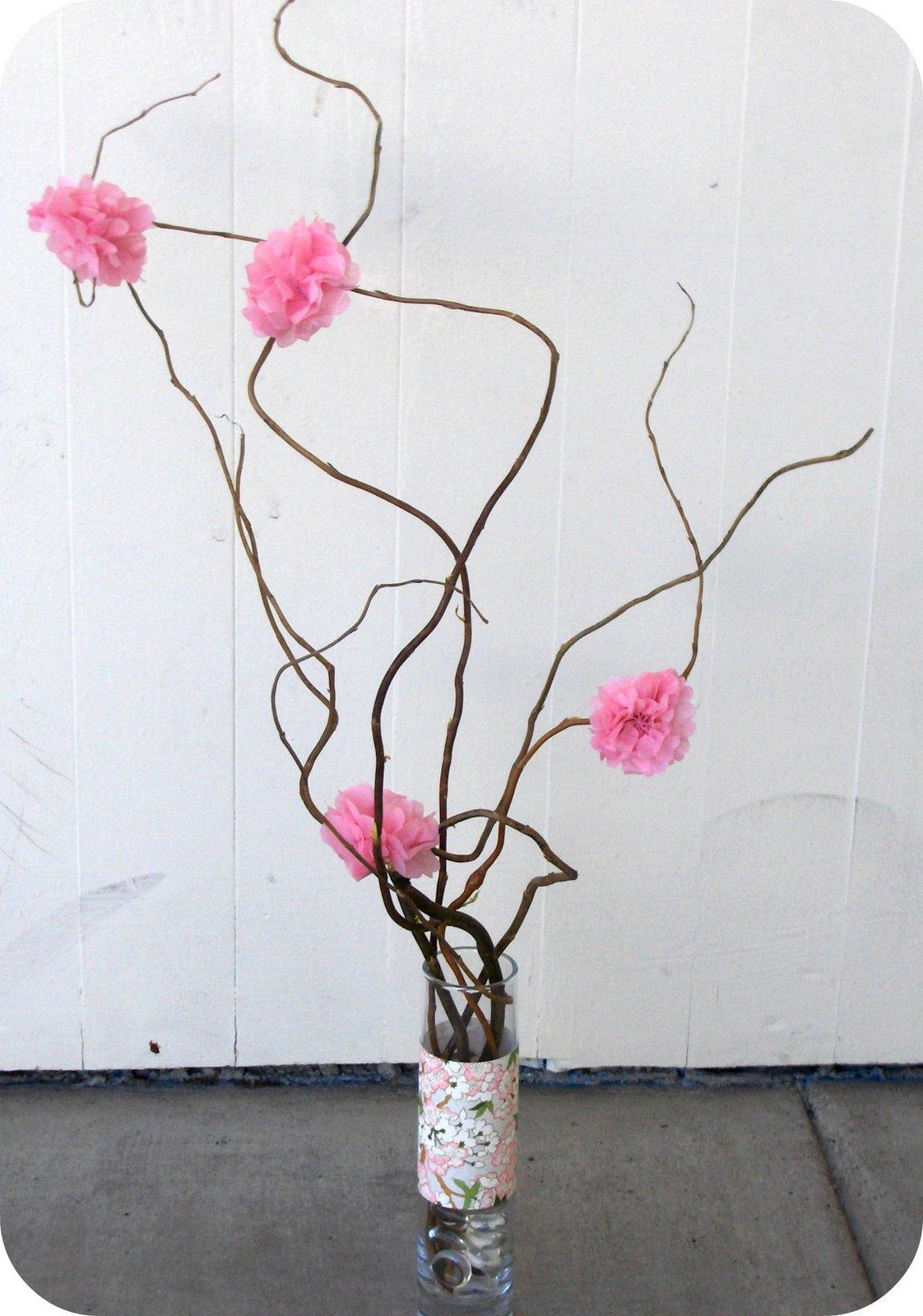 Декор из веток и цветов своими руками