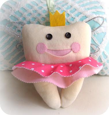 Cute Tooth Pillow : zakka life: Tooth Fairy Pillow