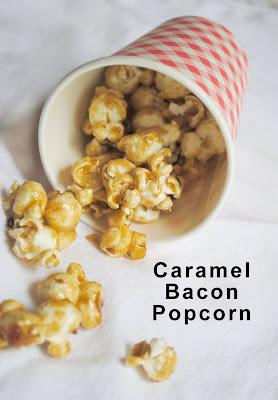 zakka life: Caramel Bacon Popcorn Recipe