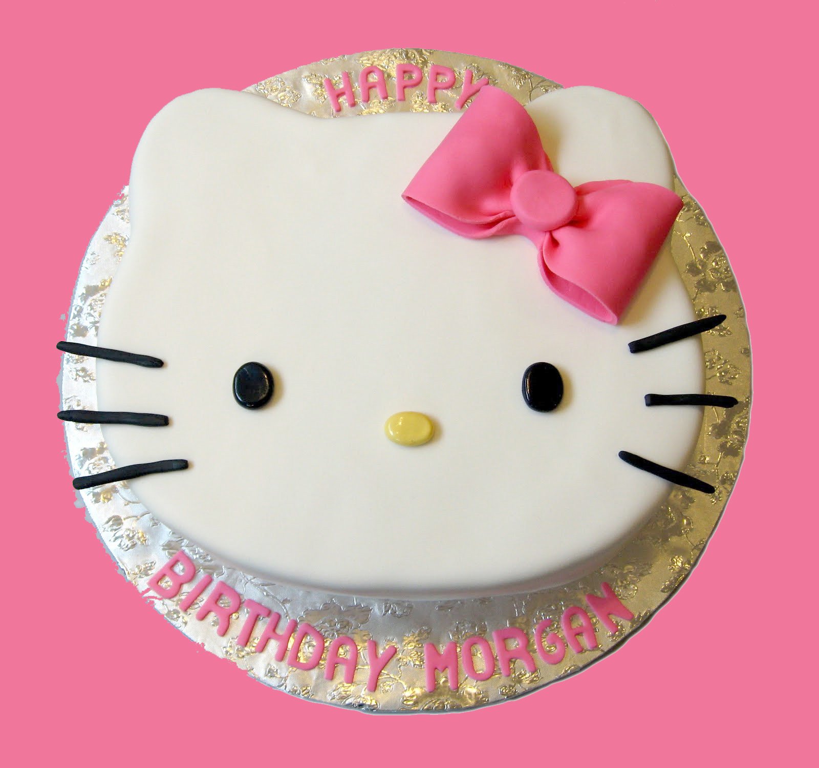 Birthday Cake Pictures Hello Kitty : Picnic Party: Hello Kitty Birthday Party