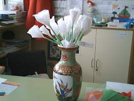 Flores blancas de la PAZ