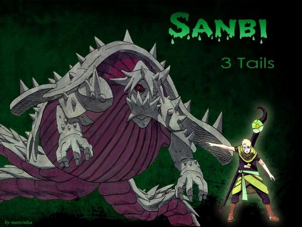 Трёххвостый Санби 3