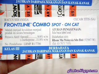 Frontline Combo Cat Green 12 Pack pinnacle pets supply damai kota kinabalu sabah