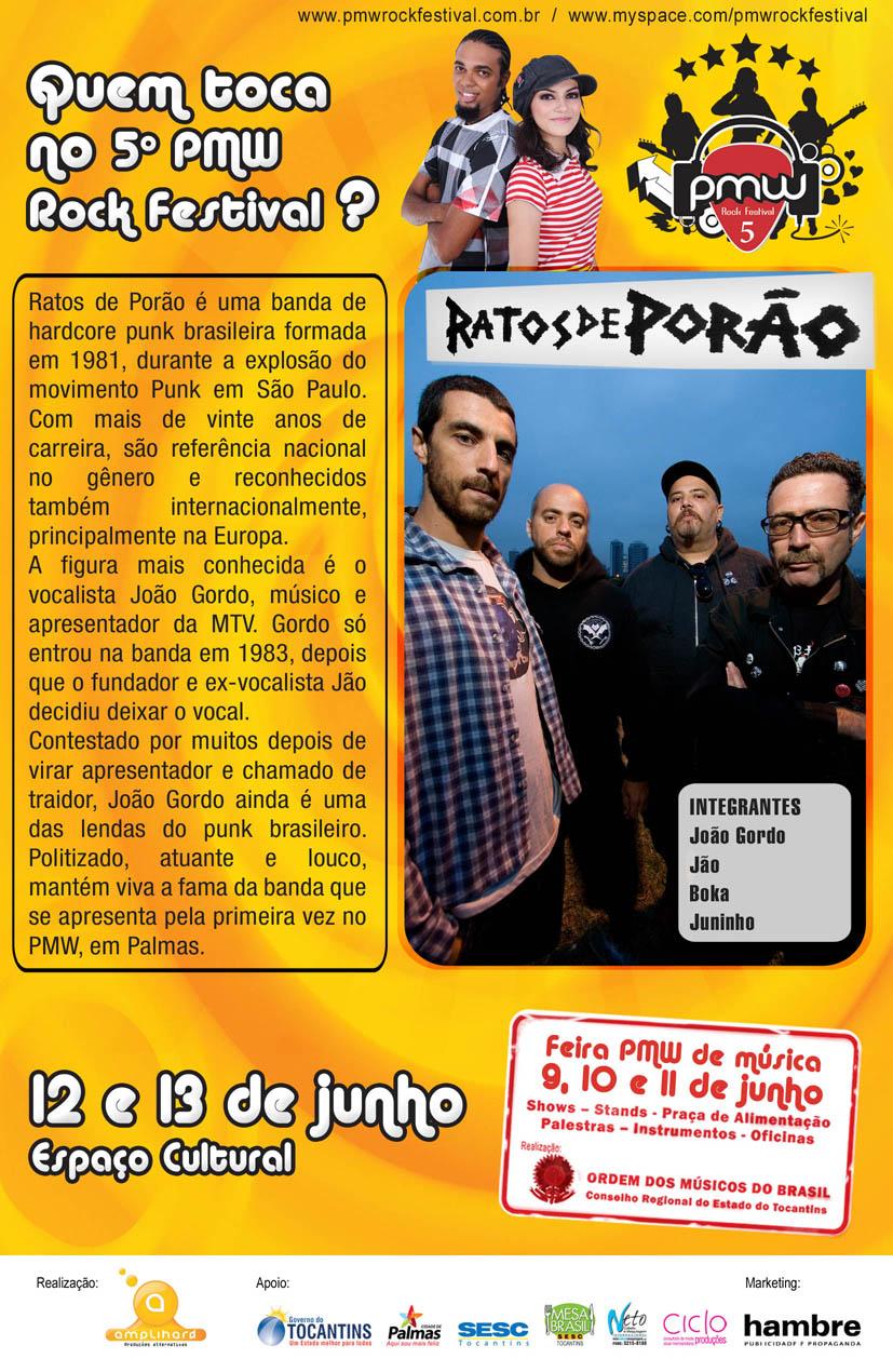 5º PMW Rock Festival